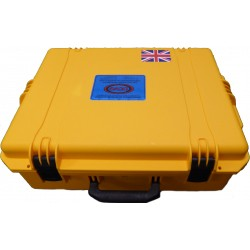 Yellow Storm Proof Case for Maximus 125 amp