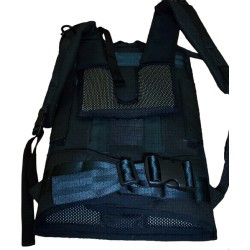 Black Cordura Backpack Harness
