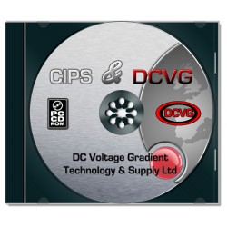 CIPS and DCVG Software on DVD